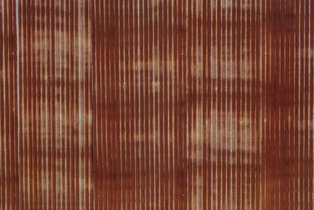 Rouillé plaque de fer galvanisé Banque d'images - 43654897