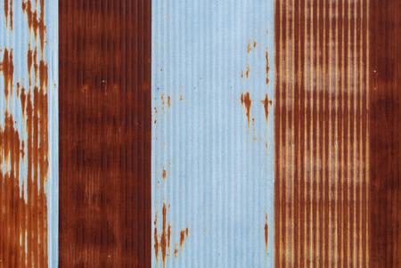 Rouillé plaque de fer galvanisé Banque d'images - 43654902
