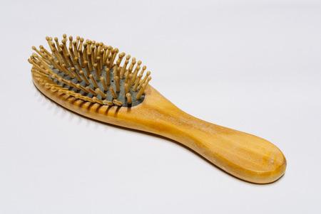 comb: Peine de madera  Foto de archivo