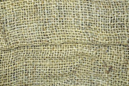Sackcloth material texture background. 免版税图像