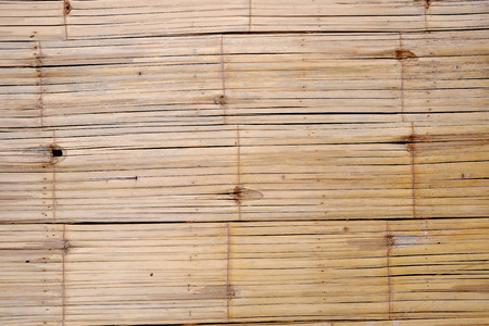 Bamboo wall structure background texture.