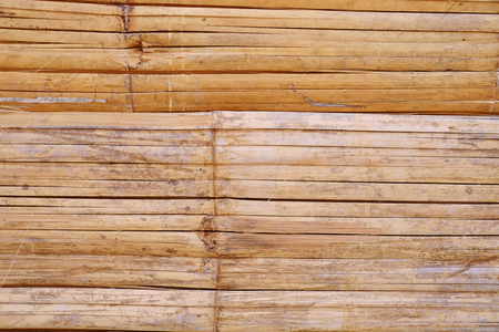 Bamboo wall structure background texture. Banque d'images - 123549458