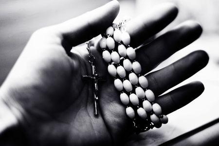 cross in hand photo