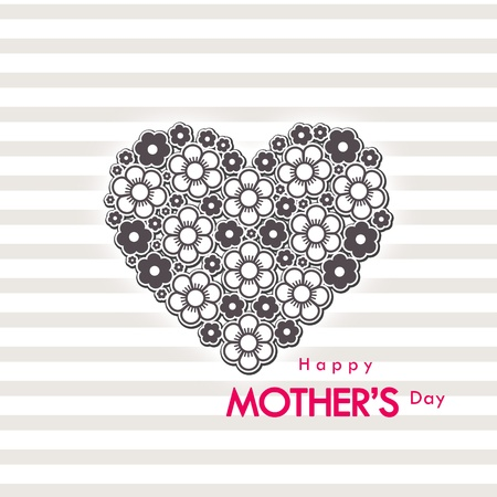 mother s: mother s day card  Stock Photo