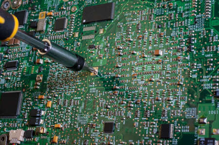 circuit board repair  photo