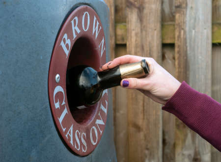 concerted: recycling a bottle