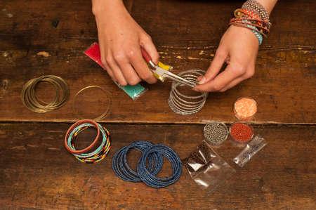 making bracelet jewellery
