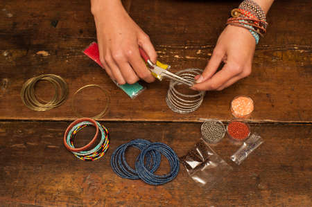 jewelry: making bracelet jewellery