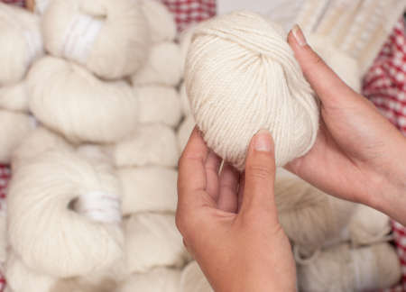warmers: shopping for white knitting wool