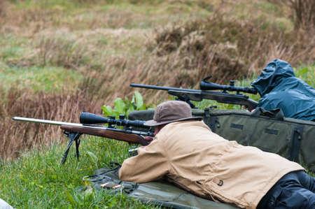 long range rifle target shooting