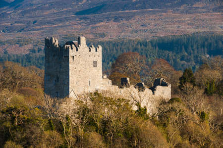 irish history: Ross castle in the Ring of Kerry