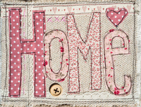 shabby chic: sewed shabby chic home text background decoration