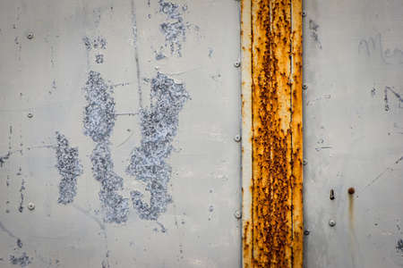 corroded: old corroded metal steel wall gate background