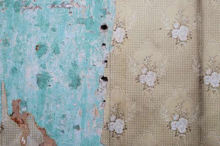 peeling: peeling wallpaper grunge wall background