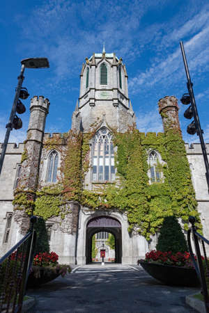 Historic Quadrangle building on the grounds of Galway city University,  Irreland
