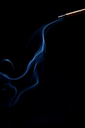 smoke figure