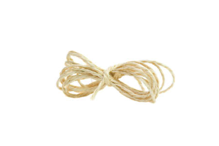 coiled rope: coiled rope, isolated