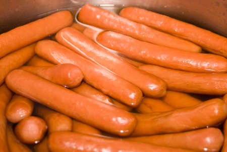 junkfood: A lot of sausage in a pan