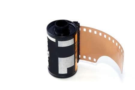 unused: 35mm unused, isolated filmrol