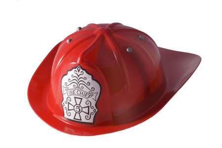 firefighter helmet Stock Photo