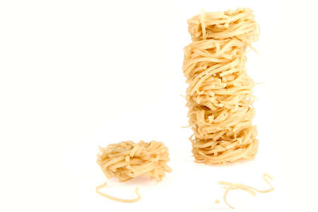 a pile, made of italian pasta Stock Photo - 5652754