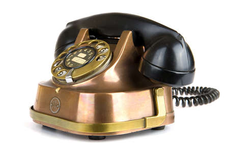 an old fashioned telephone Stock Photo - 7323197
