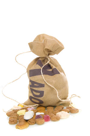 nuts in a bag, a dutch tradition Stock Photo - 7929472