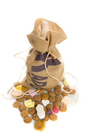traditonal: nuts in a bag, a dutch tradition