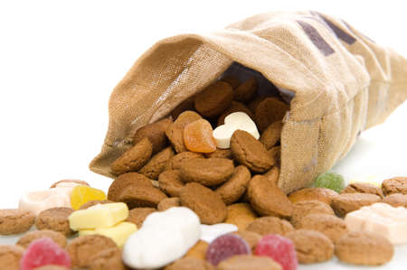 nuts in a bag, a dutch tradition photo