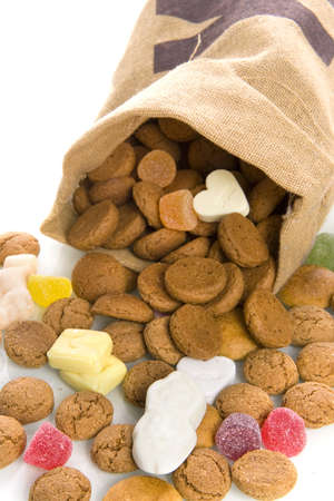 nuts in a bag, a dutch tradition Stock Photo - 7929487