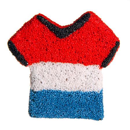a sport shirt with the dutch flag, for euro 2012 photo