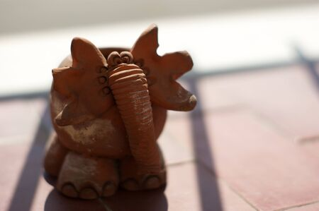 anima: Terracotta Elephant