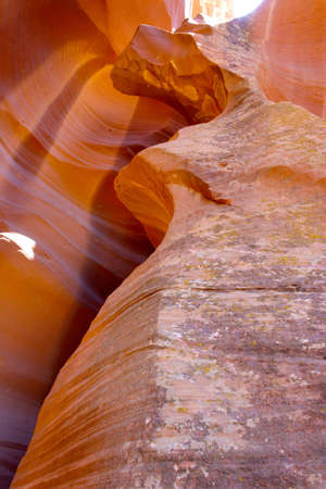 Inside Lower Antelope Canyon, Page, Arizona Stock Photo - 12710934