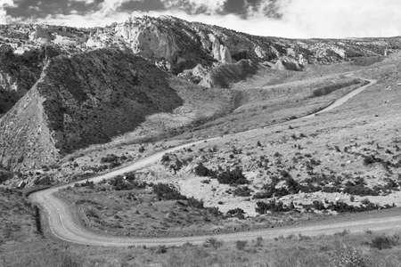 Cottonwood Canyon Road, Utah Stock Photo - 18012716