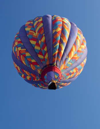 カラフルな熱気球年次 Metamora 国日と熱気球フェスティバルで発表