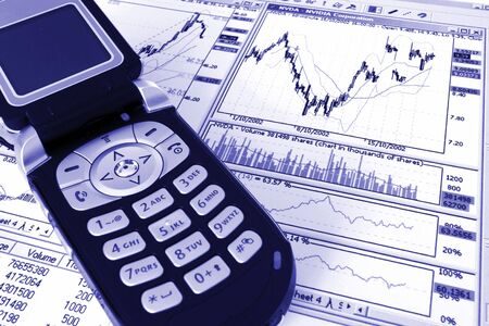 dayplanner: telephone and charts