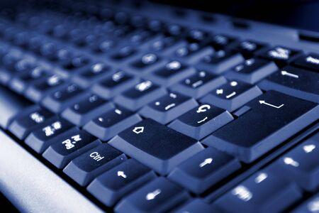 Dark keyboard photo