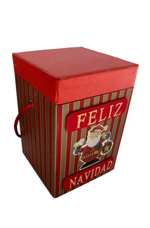 Christmas box photo