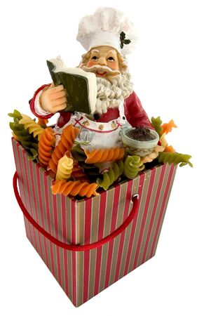 santa cooker in a box photo