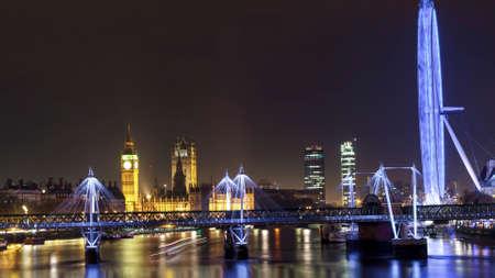 A night in London Stock Photo
