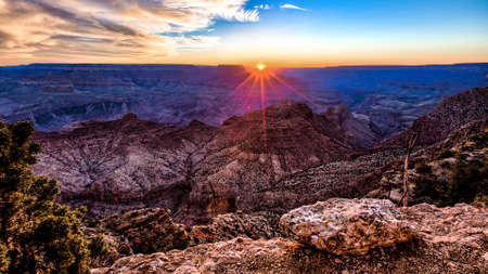 toroweap: Sunset in the canyon