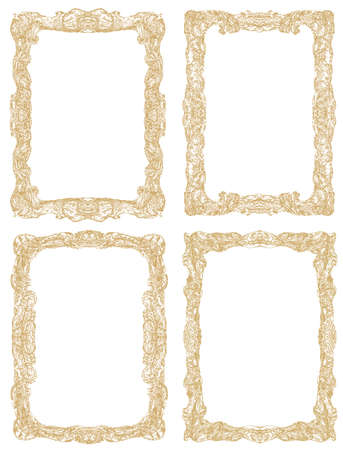 ornate frame: Ornamental frames