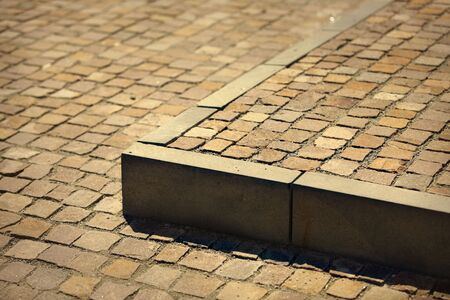 Pavement stairs made out of bricks in front of a building Stock Photo - 3537964