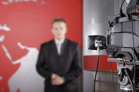 TV studio photo
