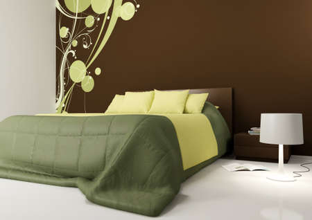 modern bedroom Stock Photo - 9782123
