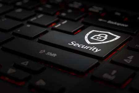 Keyboard, enter security key Banco de Imagens