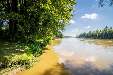 River Drava in Danube-Drava National Park (Danube-Drava National Park), Hungary