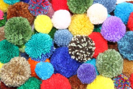 tassels and pompoms, wool, handicrafts, bijouterie, pearls