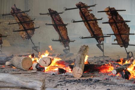 出資の典型的なアルゼンチン料理にリブロース