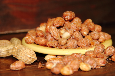 Peanut caramel typical dessert of Mexican cuisine